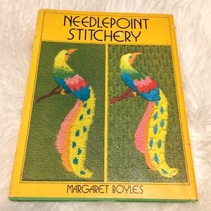 Vintage Accents - 🦋2/$10 3/$15 4/$18 5/$20 Vintage Needlepoint Book